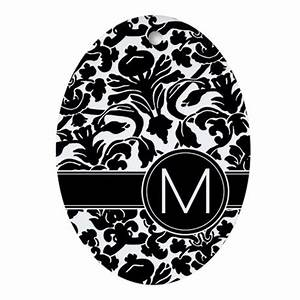monogram letter m ornament oval by marshenterprises With letter m ornament