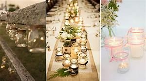 Pot En Verre Deco : les bocaux en verre le sacr atout de votre d co de mariage ~ Melissatoandfro.com Idées de Décoration