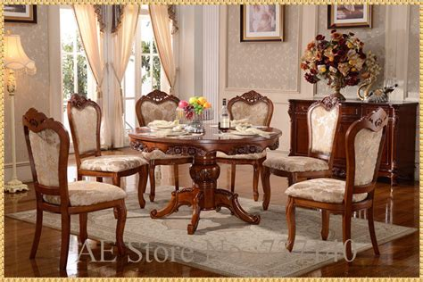 wooden dining table and 6 chairs dining table set dining table 6 chairs retro wood