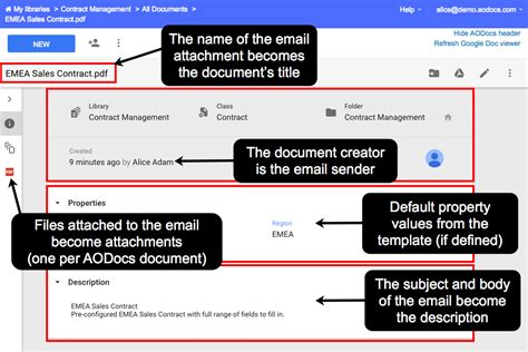 Default New Document Drive Template by Create Documents From Emails In Team Folders And Secured