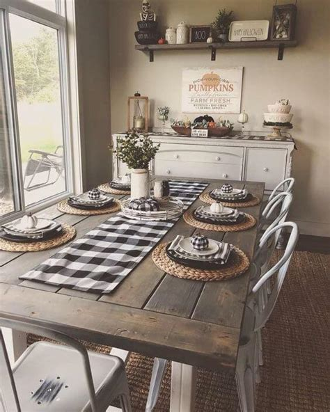 Farmhouse Dining Room Decorating Ideas by 28 Stunning Farmhouse Dining Room Decor Design Ideas