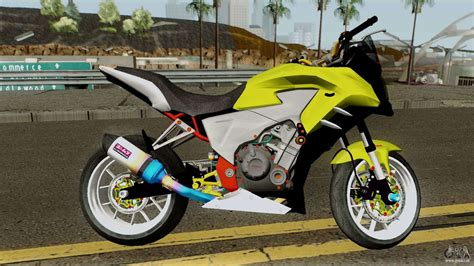 Modification Honda Cb500x honda cb500x modified race pour gta san andreas