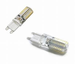 Ampoule Led G9 Blanc Froid : 1 ampoule led g9 4w a 64 led smd 3014 220v couleur blanc ~ Melissatoandfro.com Idées de Décoration