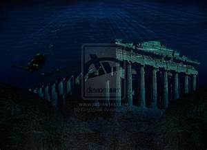 Underwater Ancient Ruins by KingSquall on deviantART
