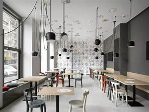 Cafe in Prague Proves Minimalist Interiors Can Be Playful ...