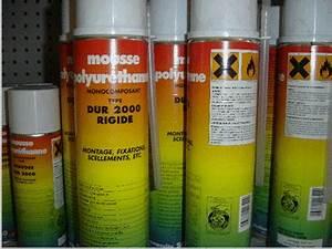 Bombe Mousse Polyuréthane Prix : colmatage trous la mousse polyur thane ~ Premium-room.com Idées de Décoration