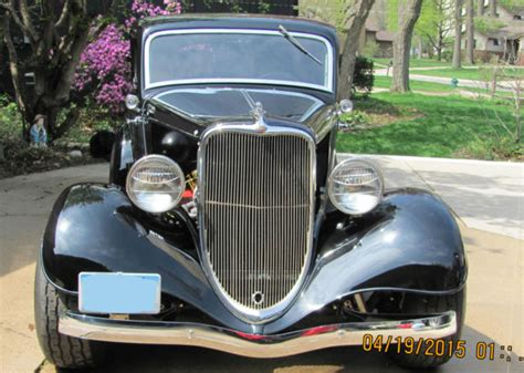 Ford Other 3 Window Coupe 1933 Black For Sale [xfgiven