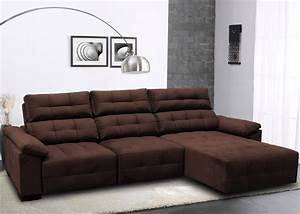Sofa 1 80 Breit : sof 3 lugares retr til e reclin vel 2 80 m pronta entrega ~ Markanthonyermac.com Haus und Dekorationen