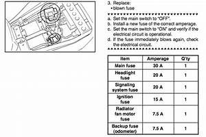 2007 Yamaha R6 Fuse Diagram