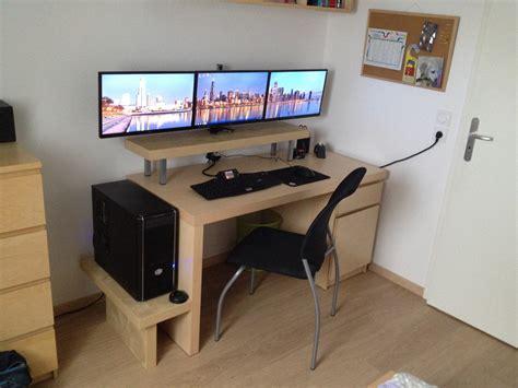 tour pour ordinateur de bureau ikea meuble ordinateur