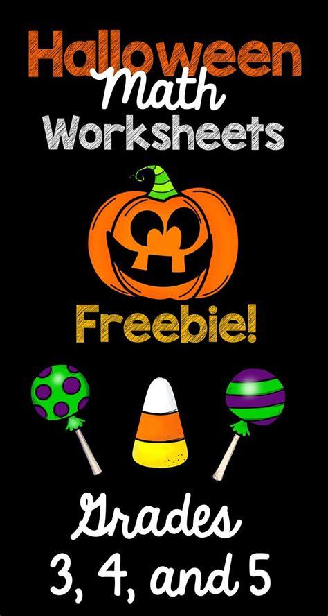 halloween math worksheets rounding numbers  grade