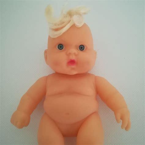 Cuki pufi csecsemő baba szőke hajtinccsel   Eladó minőségi ...