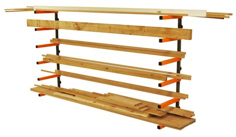 Lumber Storage Rack Portamate Pbr-001. Six-level Wall
