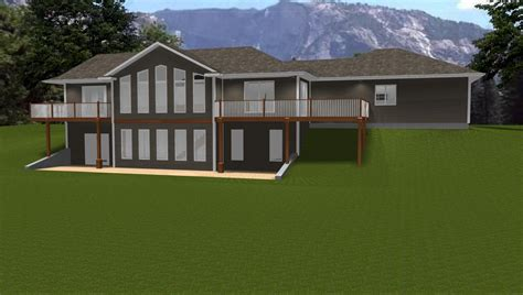 ranch house plans walkout basement ranch house plans law apartment bungalow plans