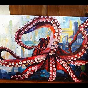 New #octopus #painting #acrylic #art #artwork #paint # ...