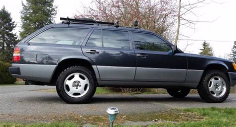 lifted mercedes sedan lifted 1991 mercedes 300te 4matic wagon found for sale on