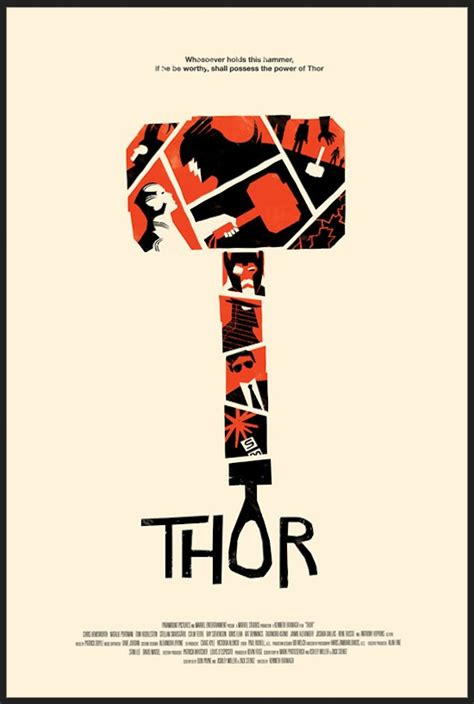 creative alternative marvel comic movie posters