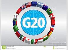 G20 Country Flags Stock Illustration Image 49772406