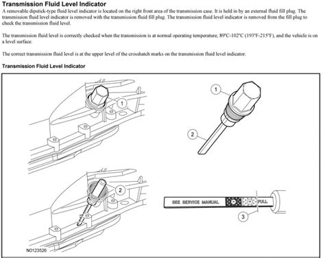 fluid change page  ford  forum