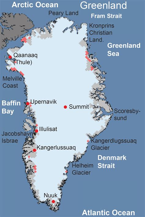 greenland ice sheet today surface melt data presented