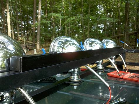 roof rack with lights roof rack with 4 kc lights page 4 jeep