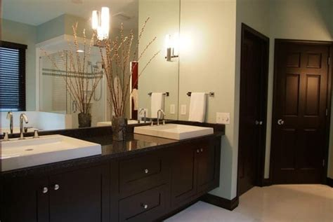 Contemporary, Black, Maple, Floating Vanity, In Spa-like