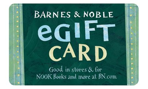 For  Egift Card To Barnes & Noble +  Back In