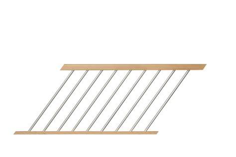 escalier droit sans contremarches balustres aluminium verticales escaliers d2bois fr