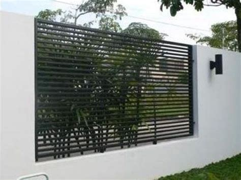 modern fence designs metal mild steel metal fence modern design garden ideas pinterest wooden gates metals and search