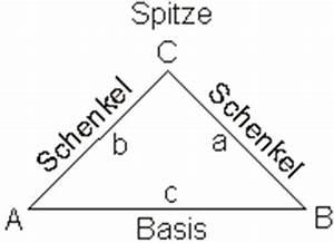 Gleichschenkliges Dreieck Schenkel Berechnen : dreiecksarten und bezeichnungen ~ Themetempest.com Abrechnung