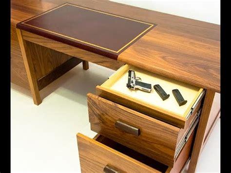 Tactical Desk by Qline Tactical Desk With Secret Compartments