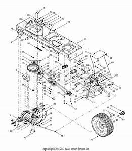 Troy Bilt 14ar809k063 25hp Garden Tractor  2002  Gt