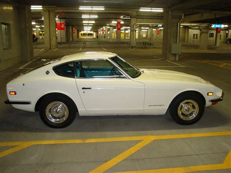 71 Datsun 240z by File My Restored 71 Datsun 240z With Blue Interior