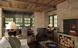 Arredamento soggiorno rustico moderno idee per il design for Soggiorno rustico moderno