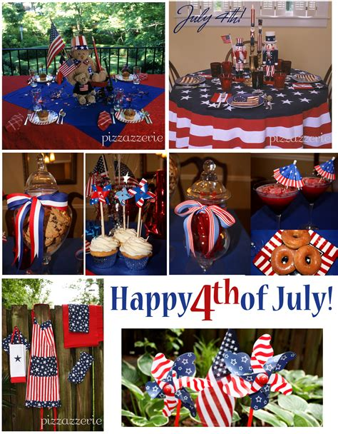 4th of july celebration ideas july 4th party ideas pizzazzerie