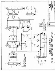 Triode Electronics  Altec Lansing Schematic  U0026 Literature