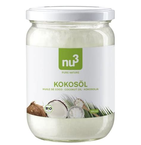 Kokosöl Test & Vergleich 2017 Bio, nativ & kaltgepresst