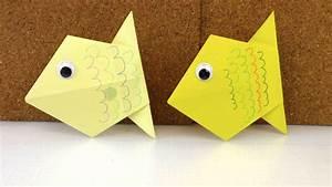 Wie Falte Ich Servietten : diy origami deutsch einfach wie falte ich einen fisch ~ Eleganceandgraceweddings.com Haus und Dekorationen