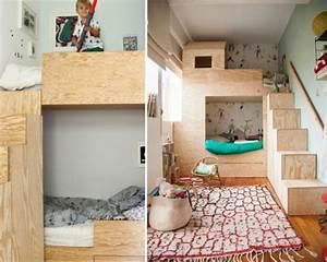 Cabane Chambre Enfant : une cabane en bois ~ Teatrodelosmanantiales.com Idées de Décoration