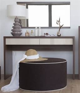 meuble coiffeuse design pour chambre a coucher tendance With meuble salle de bain avec coiffeuse