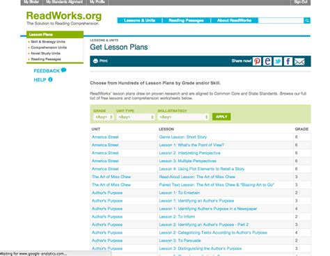 Please feel free to have your child record his or her answer on a. ReadWorks Educator Review | Common Sense Education