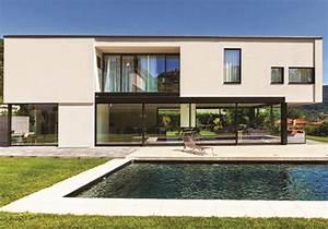 Maison cubique with maison moderne sans toit for Amazing plan de maison cubique 12 interieure de maison moderne meilleures images d