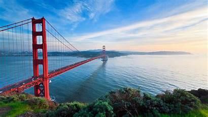 Francisco San Bridge Golden Gate 2560 1440