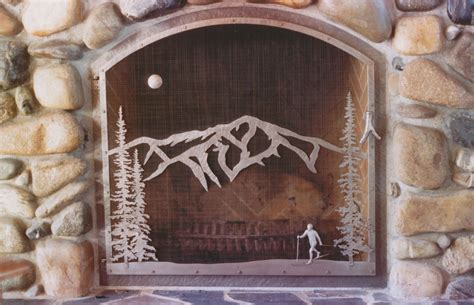 custom fireplace doors 5 custom fireplace doors types to consider
