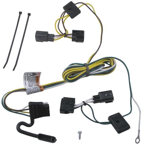 Trailer Wiring Harness by T One Vehicle Wiring Harness With 4 Pole Flat Trailer