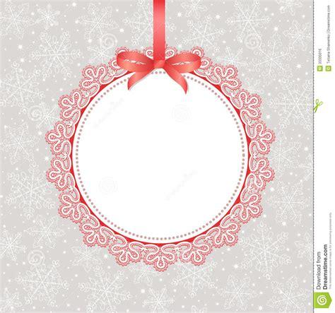 template frame design  greeting card stock illustration
