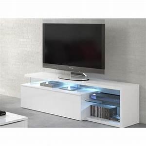 Meuble Tv En Hauteur : meuble tv 150 cm ~ Teatrodelosmanantiales.com Idées de Décoration