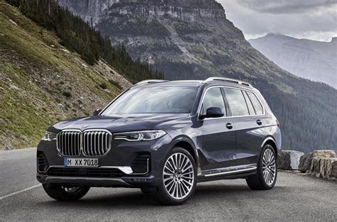 2019 bmw x7 unveiled as new flagship suv performancedrive
