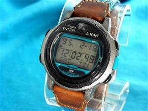 VINTAGE TIMEX EARLY MICROSOFT 1995 NASA DATA LINK WATCH IN ...