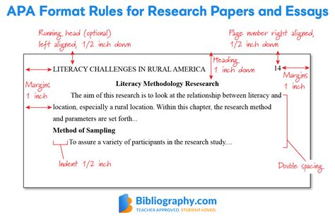 Additional papers here also demonstrate apa style formatting standards for other paper types: APA Format Guidelines for an A+ Paper | Bibliography.com